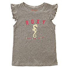 Футболка детская Roxy Twendless Horse K Tees Heritage Heather