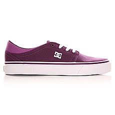 ���� ������ ������� DC Trase Tx Shoe Purple Wine