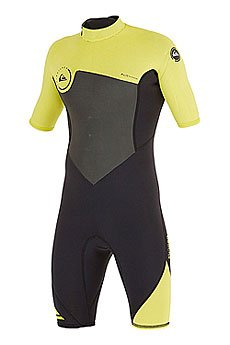 ����������� (����������) ������� Quiksilver 2mm Syncr Black/Yellow