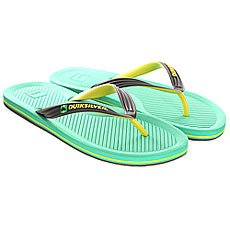 ��������� Quiksilver Haleiwa Sndl Black/Green/Yellow