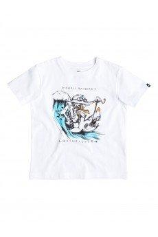 �������� ������� Quiksilver Seagull Raiser Tees White