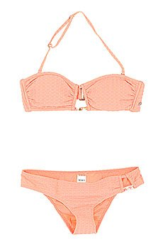 Купальник женский Roxy Bandeau/Scooter Sunkissed Coral
