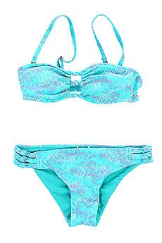 Купальник женский Roxy Knotted Bandeau Jungle Zig Zag Combo