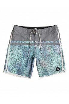 Шорты пляжные Quiksilver Stomp Cracked Castlerock