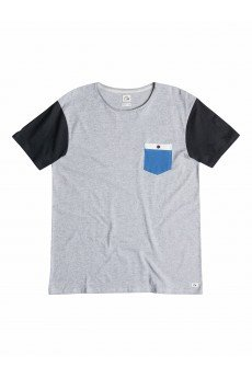 Футболка Quiksilver Bay Sic Light Grey Heather
