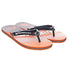 Вьетнамки Quiksilver Molokai Incline Black/Orange