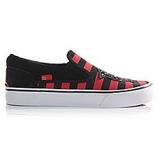 ������� ������� DC Trase Slip-on X Red/Black