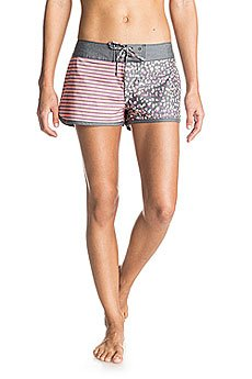Шорты пляжные женские Roxy Colors Print Bs Animal Print Combo T