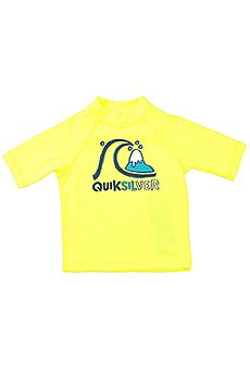 ������������� ������� Quiksilver Bubble Kids Ss Safety Yellow