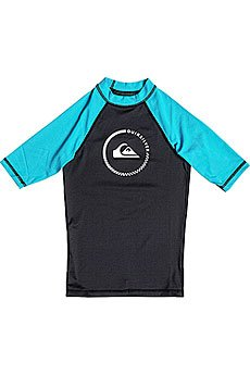 ������������� ������� Quiksilver Lock Up Boy Ss Black/Hawaiian Ocean