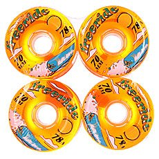 ������ ��� ��������� Sector 9 Freeride 7 Wheels Orange 78A 70 mm