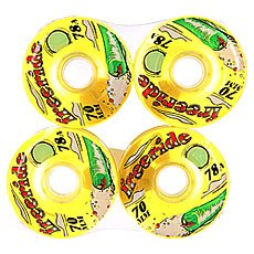 ������ ��� ��������� Sector 9 Freeride 7 Wheels Yellow 78A 70 mm