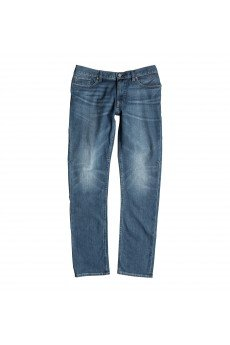 Джинсы прямые DC Washed Straigh Pant Blue