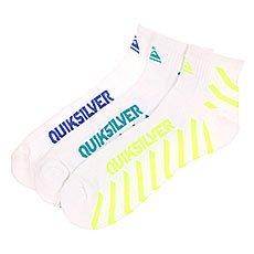 ����� ������� Quiksilver Diagnal Stripe Qtr White
