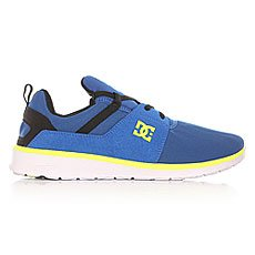 Кроссовки DC Heathrow Blue/Black/Yellow