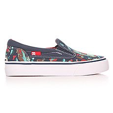 ������� ������� DC Trase Slip-on Navy/Red