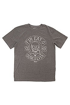 Футболка Quiksilver Heatherteefineo Charcoal Heather