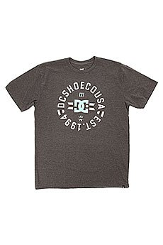 Футболка DC Shoes Emblem 1994 Dark Heather Grey