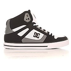 Кеды высокие DC Spartan High Wc Black/Grey/White