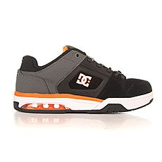 Кеды низкие DC Rival Grey/Orange