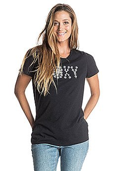 ����� ������� Roxy Crewhightides J Tees True Black