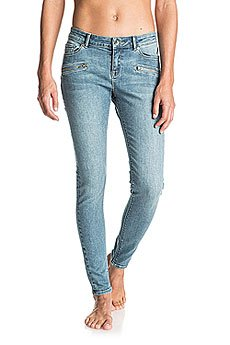 Штаны узкие женские Roxy For Cassidy Vin J Pant Vintage Blue