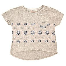 Футболка Roxy Into The Deep G Tees Heritage Heather
