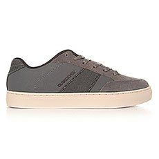 Кеды низкие Quiksilver Circuit Shoe Grey/Grey/White