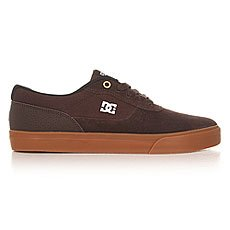 Кеды низкие DC Switch S Brown/Gum
