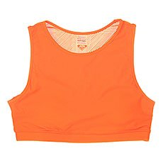 Топ женский Roxy Courr Ges Bra J Kttp Shocking Orange