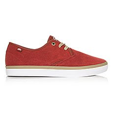 Кеды низкие Quiksilver Shorebreak Sued Shoe Xrrw Red/Red/White