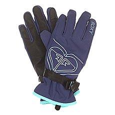 �������� ��������������� ������� Roxy Popi Gloves Blue Print