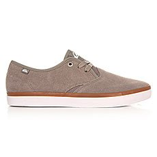 Кеды низкие Quiksilver Shorebreak Sued Grey