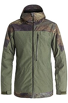 ������ Quiksilver Tension Jacket Woodland