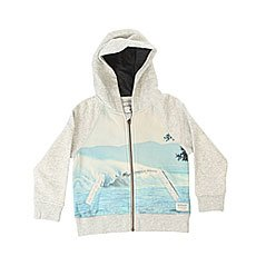 ��������� ������������ ������� Quiksilver Photoprintzbaby Light Grey Heather