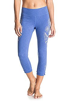 Леггинсы женские Roxy Hampi Capri Dazzling Blue Heather