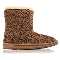 Угги детские Roxy Rg Molly Cheetah Print