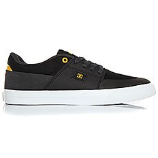 Кеды низкие DC Wes Kremer Black/Grey/Yellow