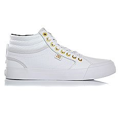 ���� ������� ������� DC Evan Hi White/Gold