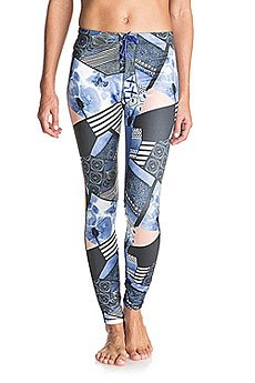 Леггинсы женские Roxy Stay On Pant Geo Mix 40 Combo Tru