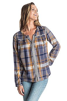 Блузка женская Roxy Keep Marta Plaid Combo Sm