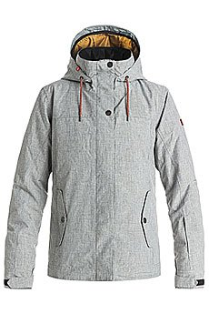 Куртка женская Roxy Billie Jk Mid Heather Grey