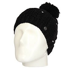 Шапка женская Roxy Shootstarbeanie True Black