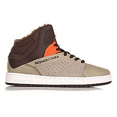 Кеды утепленные DC Seneca High Wnt Brown/Grey