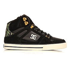 Кеды утепленные DC Spartan High Wc Black Camo