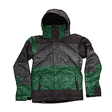 ������ ������� Quiksilver Mission Print Stripe Jolly Green