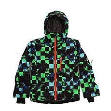 Куртка детская Quiksilver Mission Plus Waxdotcamo Check