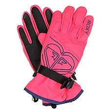 �������� ��������������� ������� Roxy Popi Gloves Paradise Pink
