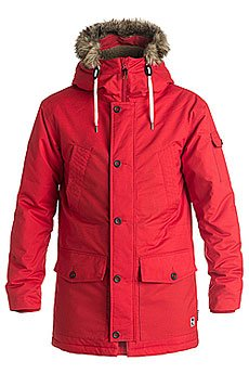 ������ ����� Quiksilver Ferris Parka Racing Red