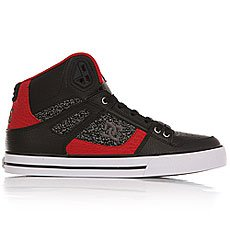 Кеды высокие DC Spartan High Wc Black/Red